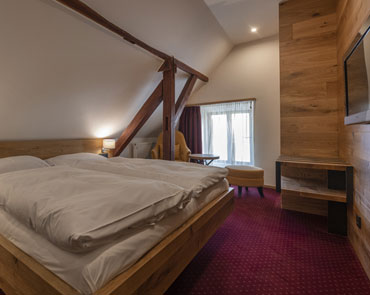 Pictures Superior Double Room at Villa Conti, accommodation in Cesky Krumlov